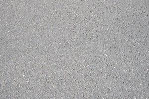 naar beneden afgerond asfalt