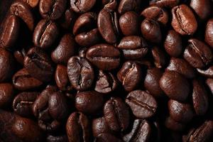 arabica koffiebonen textuur foto