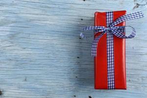 geschenkdoos met lint foto