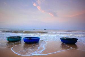 creel boten van vissers lagi foto