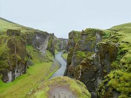 natuurlijk landschap in IJsland