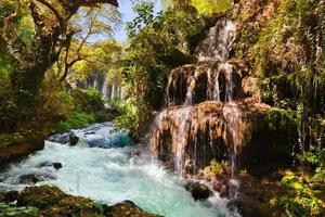 waterval duden in antalya turkije
