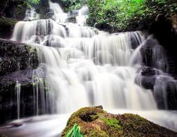 mundang waterval, petchaboon, thailand