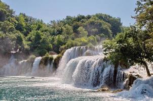 krka nationaal park in kroatië