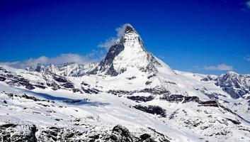 uitzicht op Matterhorn foto