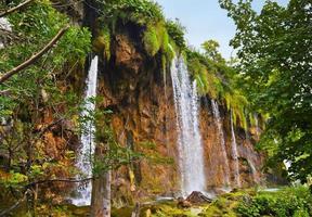 Plitvicemeren in Kroatië foto