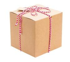 handgemaakte geschenkdoos foto