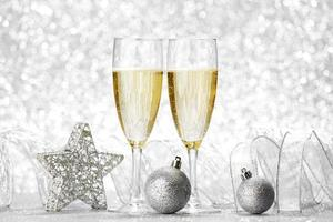 champagne en decoratie