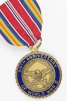 50e verjaardag van de medaille uit de Tweede Wereldoorlog