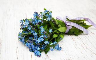 vergeet-mij-nietjes bloemen foto