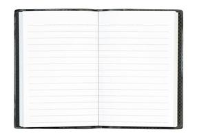 notitieboek foto
