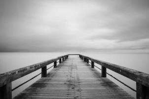 pad naar de zee