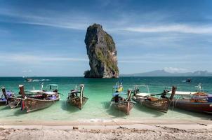 ik hou van de zee van Thailand. foto