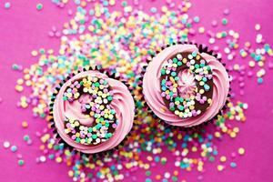30e verjaardag cupcakes foto