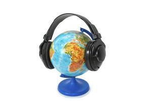 luister naar muziek planeet foto