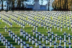 begraafplaats wereldoorlog één in frankrijk vimy la targette foto