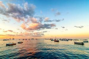 tyrreense zee zonsopgang