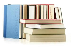 boeken op tafel