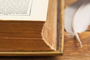 stukje oud boek