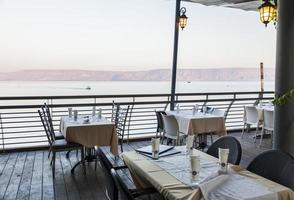 zee (meer) van Galilea. tiberias. lager Galilea. Israël. foto