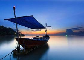de vissersboot, Thailand