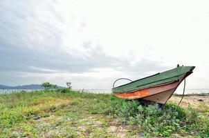 gestrande boot