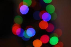bokeh kerstboom foto