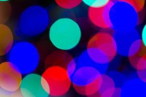kerst bokeh achtergrond wazig foto