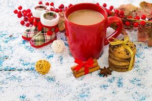 kerst feestelijke achtergrond foto