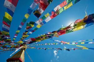 boeddhistisch klooster in nepal