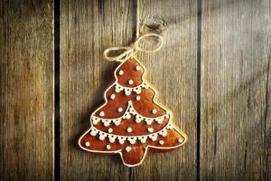 kerst zelfgemaakt peperkoekkoekje