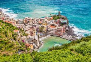 stad vernazza, cinque terre, italië