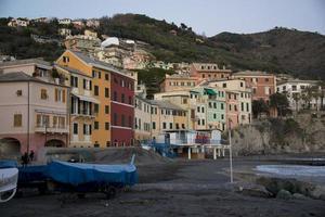 overzicht van bogliasco in liguria foto