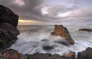 vuurtoren strand haven macquarie foto