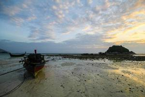 lipe eiland, koh lipe, satun provincie thailand foto
