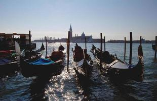 Venetië gondels