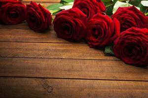 rode rozen foto