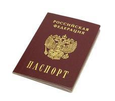 Russisch paspoort foto