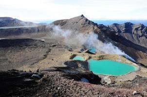 Tongariro National Park, Nieuw-Zeeland foto