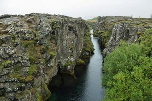 pingvellir nationaal park in IJsland foto