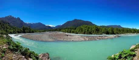 Queulat National Park, Aysen, Patagonië, Chili