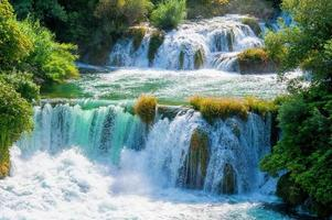 watervallen krka foto