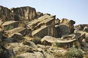 gobustan nationaal park. Azerbeidzjan