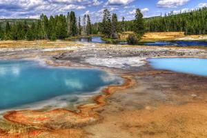 Yellowstone National Park, Wyoming, Verenigde Staten