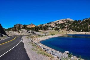 Lassen National Park, Californië, VS.