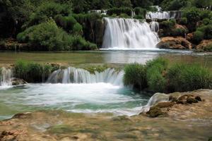 waterval skradinski buk foto