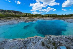 saffier zwembad yellowstone foto