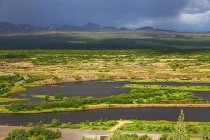 Thingvellir National Park - beroemd gebied in IJsland
