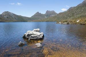 Dove Lake Cradle Mountain National Park Tasmanië foto