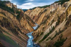 Grand Canyon van Yellowstone foto